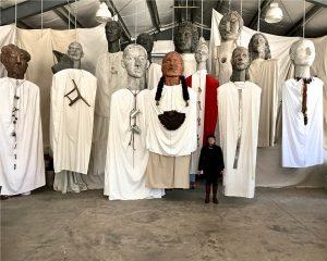 "Deborah Masters ""Big Spirits"" for exhibition at Leepa-Rattner Museum of Art."